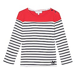 J by Jasper Conran - Girls' multi-coloured striped top
