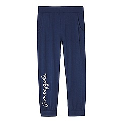Pineapple - Girls' navy Harem trousers