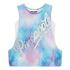 Pineapple - Girls' multi-coloured two piece drop arm vest top
