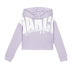 Pineapple - Girls' purple oversized 'Dance' hoodie
