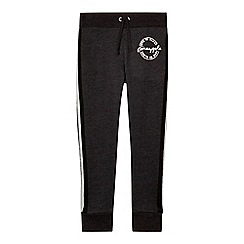 Pineapple - Girls' dark grey tape side jogging bottoms