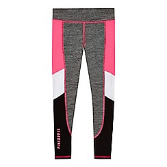Pineapple - Girls' grey melange leggings