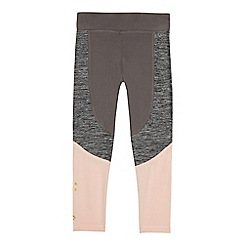 Pineapple - Girls' grey panel leggings