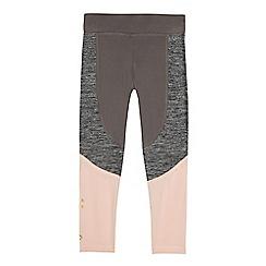 Pineapple - Girls' grey panel leggings