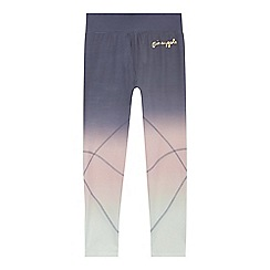 Pineapple - Girls' grey ombre leggings