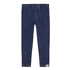 Mantaray - Girls' blue distressed jeggings