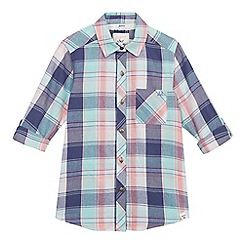 Mantaray - Girls' multi-coloured checked shirt