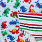 bluezoo - Boy+s pack of five blue dinosaur printed and striped briefs Alternative 2