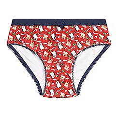 bluezoo - Girls' red briefs