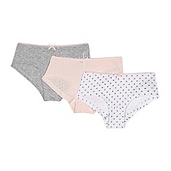 J by Jasper Conran - Girls' assorted cutout star hipster briefs