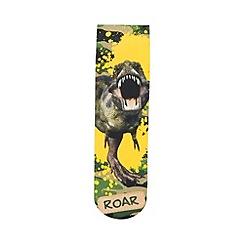 bluezoo - Boys' green dinosaur socks