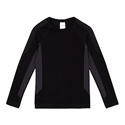 bluezoo - Boys' black base layer long sleeved top