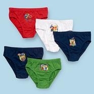 Boy's pack of five navy 'Mike the Knight' briefs