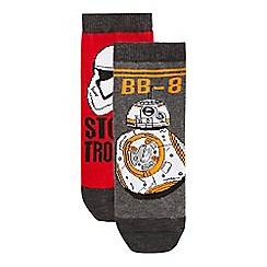 Star Wars - Pack of two boys' 'Star Wars' socks