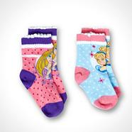 Girl's pack of two multi 'Disney Princess' socks