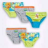 Boy's pack of five 'Moshi Monsters' briefs