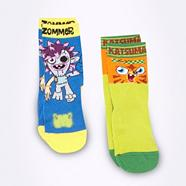 Pack of two boy's Moshi Monsters socks