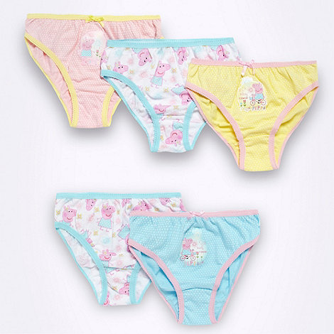 Peppa Pig - Girl+s pack of five +Peppa Pig+ briefs