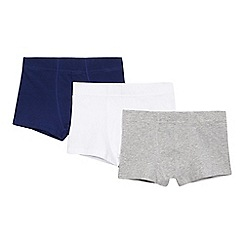 Debenhams - Pack of three boys' assorted trunks