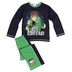 Ben 10 - Boy's navy Ben 10 print pyjamas