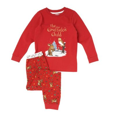 Girls Red Gruffalo Pyjama Set
