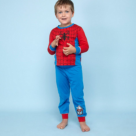 Spider-man - Boy+s multi +Spiderman+ dress up pyjamas