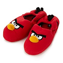 Angry birds - Boy's red 'Angry Birds' slippers