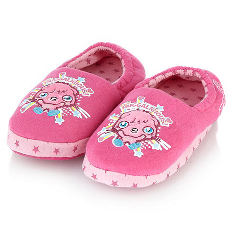 Moshi Monsters - Girl+s pink +Moshi Monster+ slippers