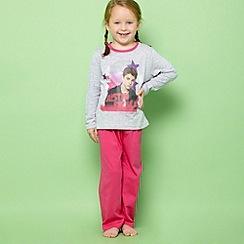 Justin Bieber - Girl's pink 'Justin Bieber' pyjama set