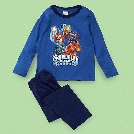 Skylanders - Boy+s blue +Skyland+ pyjama set
