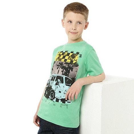 Animal - Boy+s Green Camper Van T-shirt