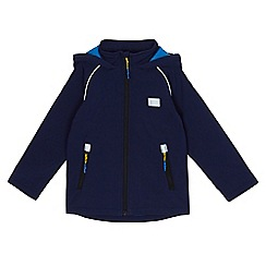 Mantaray - Boys' navy fleece lined jacket