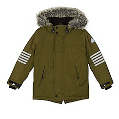 Mantaray - Boys' khaki performance parka