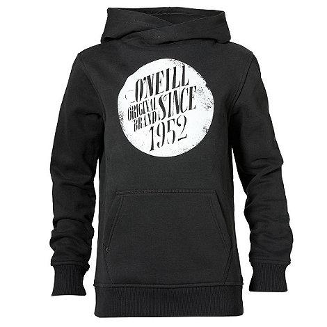 O+Neill - Boy+s black logo hoodie