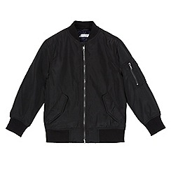 bluezoo - Boys' black bomber jacket