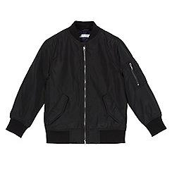 bluezoo - Boys' black bomber jacket