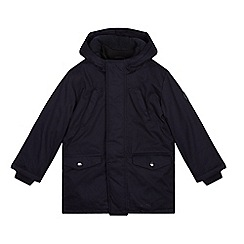 J by Jasper Conran - Boys' navy smart parka jacket