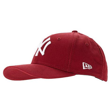 New Era - Boy+s red baseball cap