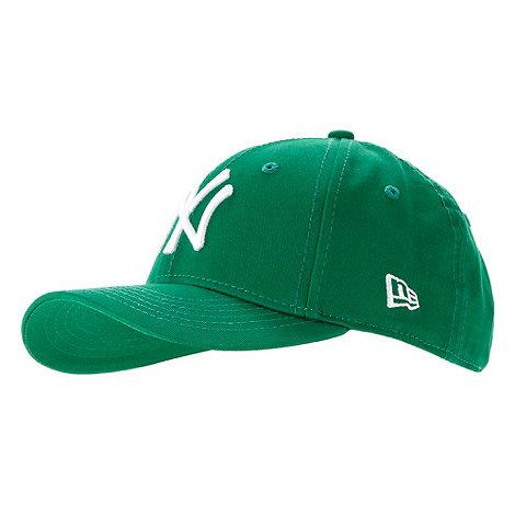 New Era - Boy+s green baseball cap