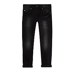 bluezoo - Boys' black super skinny jeans