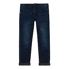 bluezoo - Boys' dark blue fully lined slim jeans