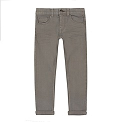 bluezoo - Boys' grey super skinny jeans