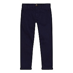 bluezoo - Boys' navy super skinny chinos