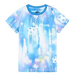 bluezoo - Boys' multi-coloured football print t-shirt
