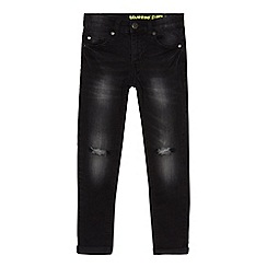bluezoo - Boys' black mid wash super skinny jeans
