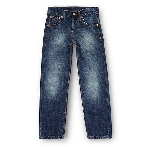 Levi+s - Boy+s blue 501 straight leg jeans