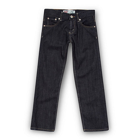 Levi+s - Boys blue 504 regular fit jeans