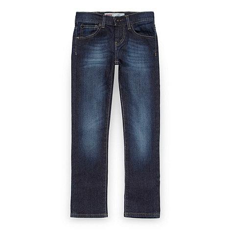 Levi+s - Boy+s blue 510 skinny jeans