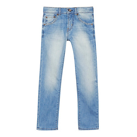 Levi+s - Boy+s blue 510 slim fit jeans