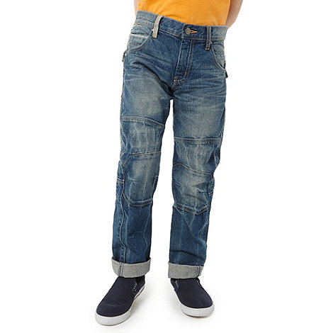 bluezoo - Boy+s blue denim fashion jeans